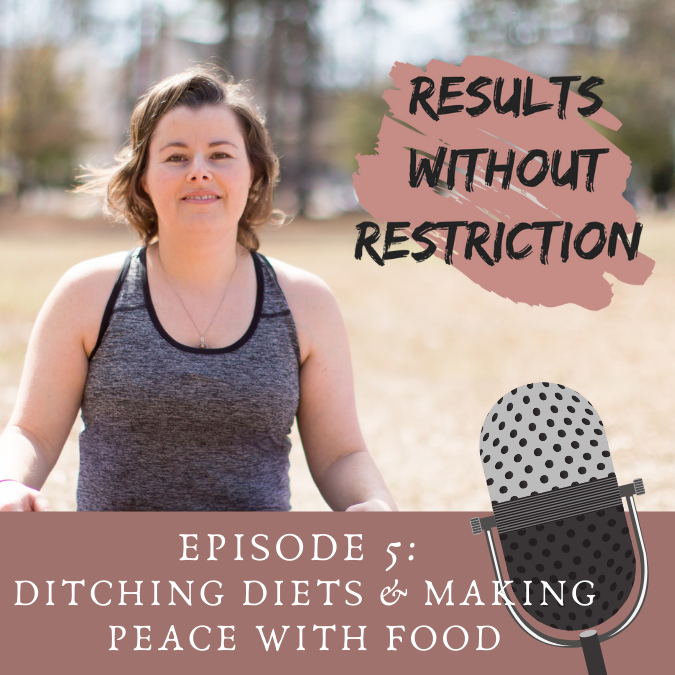 05  – Getting off the Diet Roller Coaster with Intuitive Eating